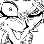 Crazy Yu Gi Oh (Yugioh) Character Coloring Page
