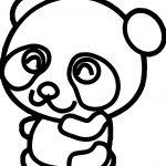 Cute Kung Fu Panda Coloring Page