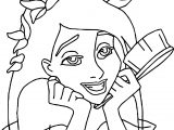 Disney Enchanted Happy Thinking Coloring Pages