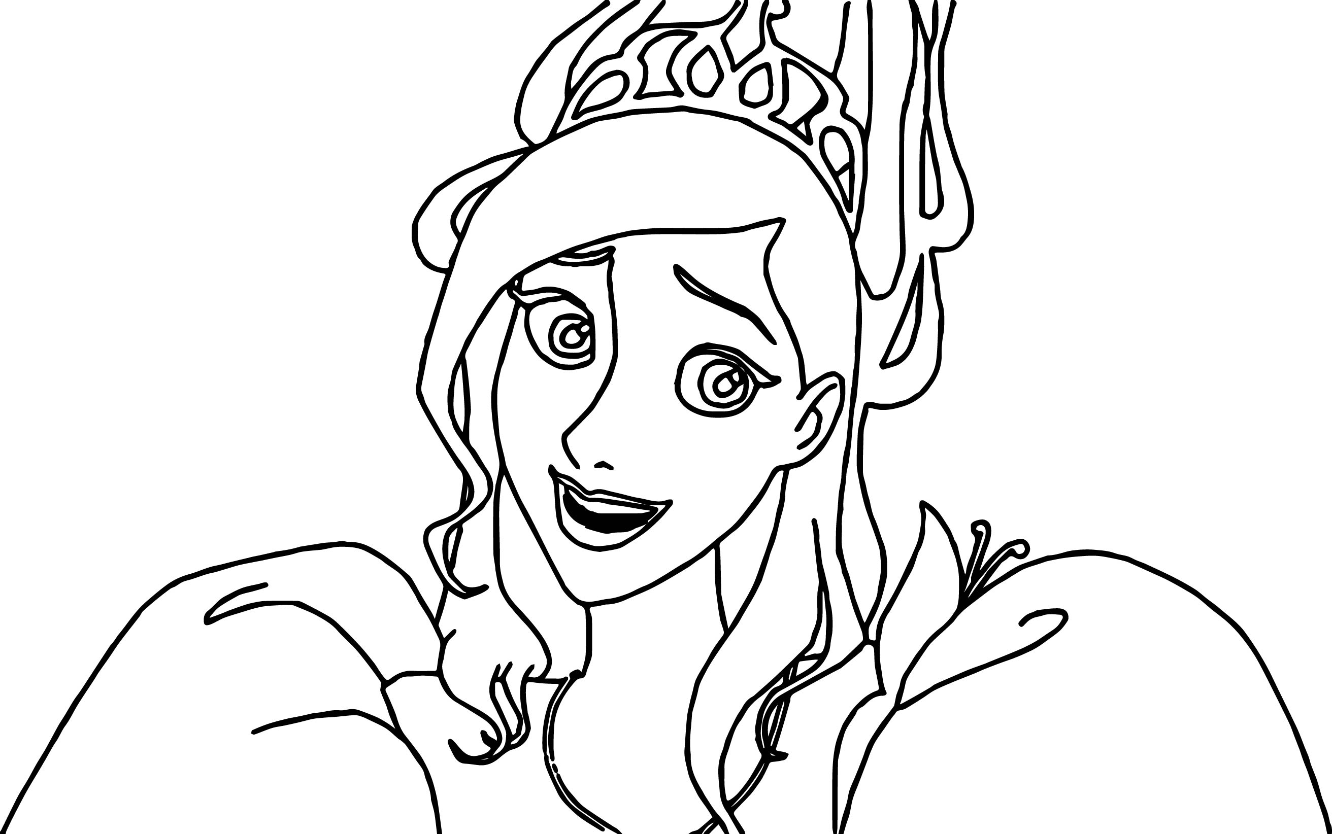 disney enchanted princess surprised coloring pages wecoloringpage