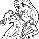 Disney Princess Tangled Coloring Page
