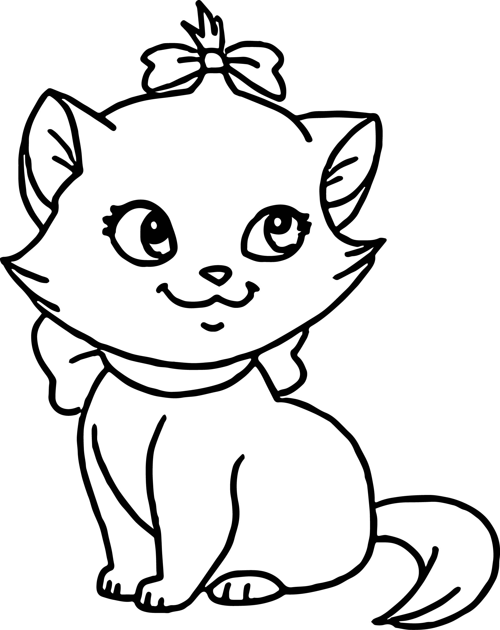 Disney The Small Aristocats Coloring Page