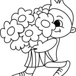 Flower Free For Kids Flower Coloring Page