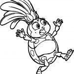 Francis Ladybug Coloring Page