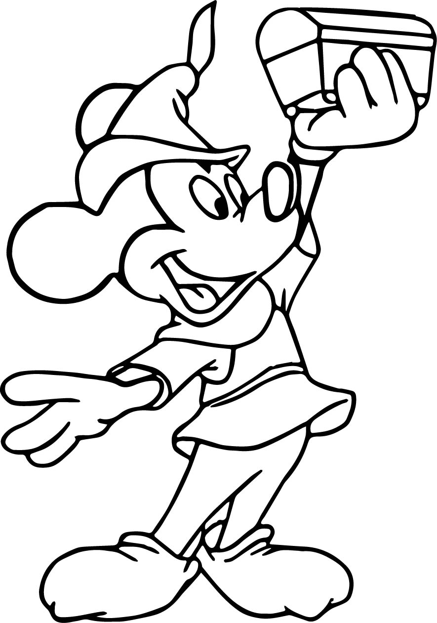 fun and fancy free mickey mouse coloring pages wecoloringpage
