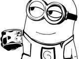 Got Milk Minion Coloring Page