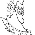 Hades Face Coloring Pages