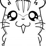 Hamtaro Sandy And Stan Anime Coloring Page