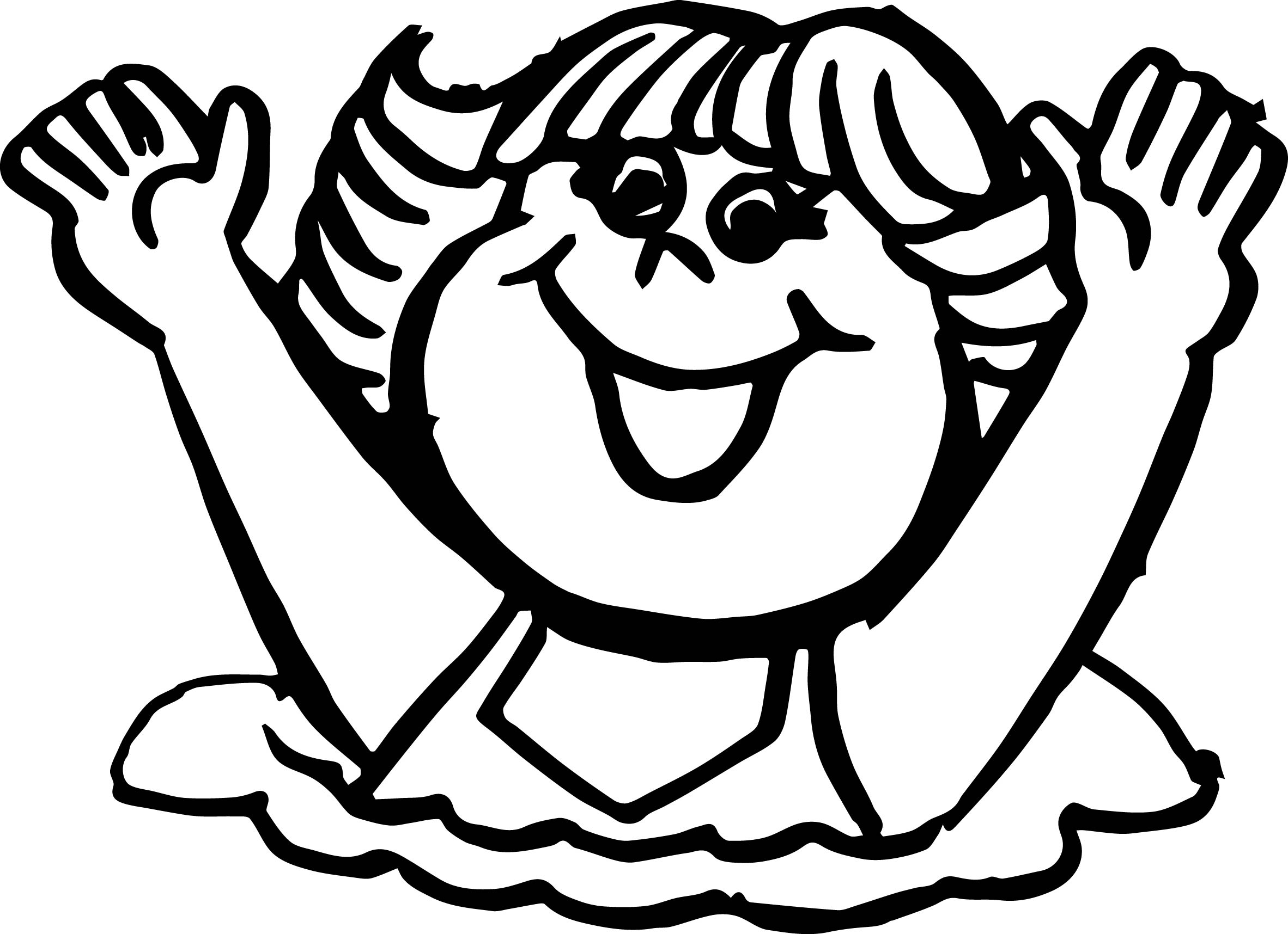 happy kids coloring page wecoloringpage