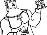 Hercules Action Coloring Pages