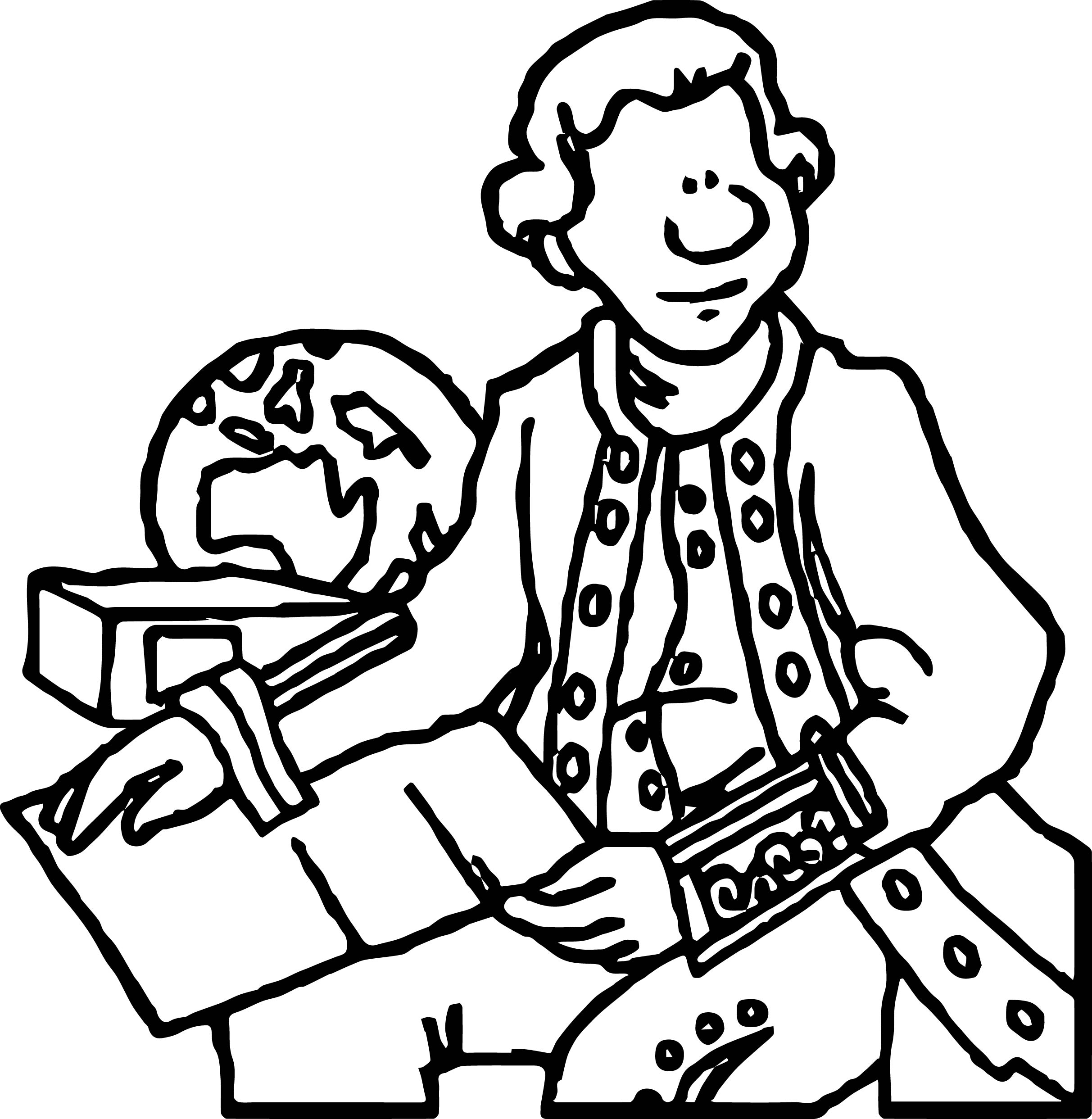 james cook coloring page wecoloringpage
