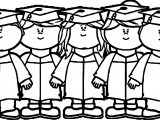 Kids Graduation Image Kids Coloring Page