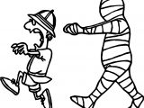 man escape from egypt mummy coloring page - Ancient Egypt Mummy Coloring Pages