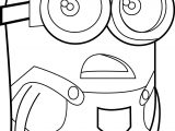 Minion Dave What Despicable Me Coloring Page