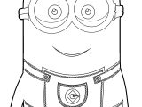 Minion HD HQ Coloring Page
