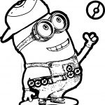 Minion Pikachu Pokeball Coloring Page