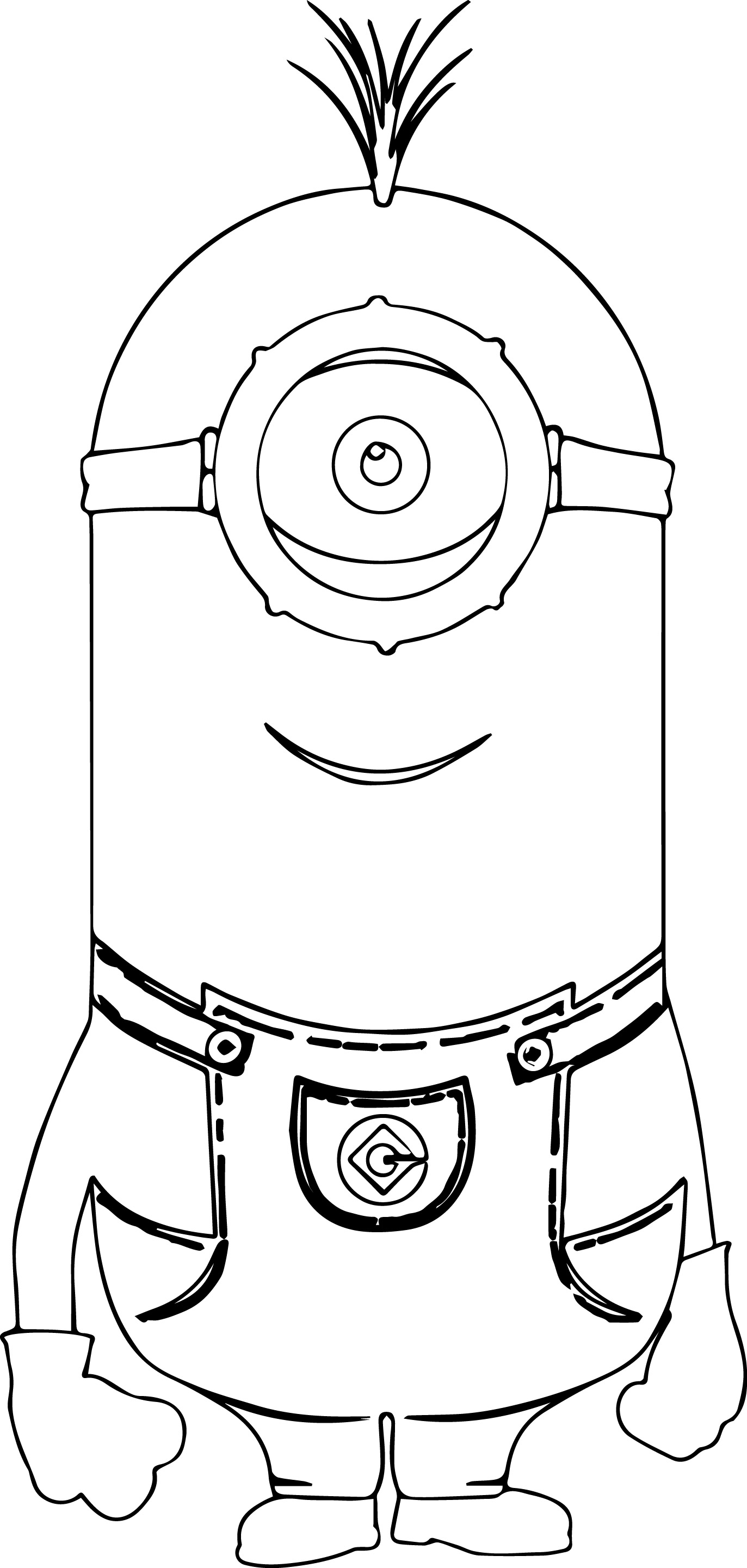 minion tim coloring pages - photo#14