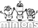 Minion Text Minions Backyard Bash Coloring Page