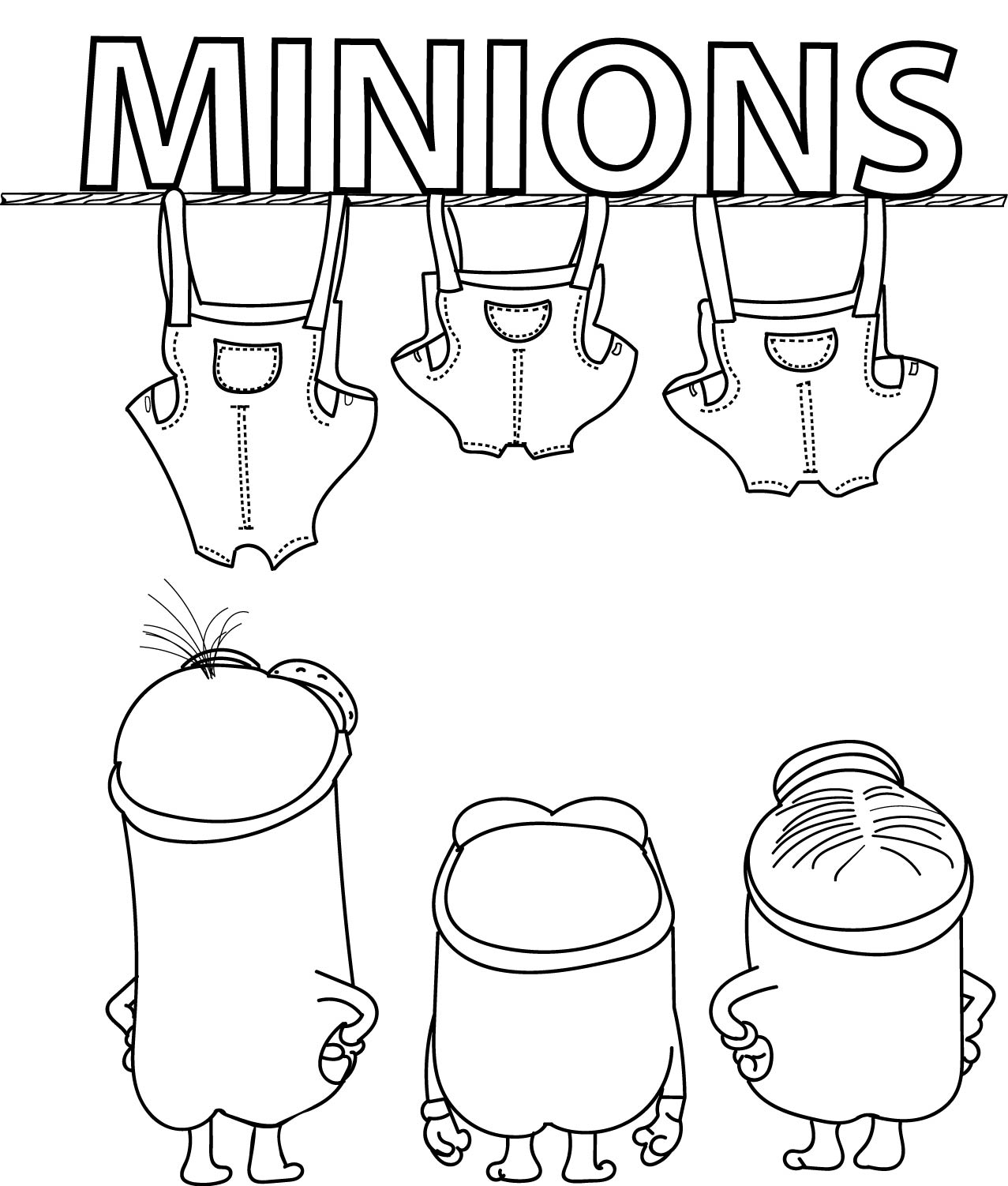 Minions Movie 2015 Coloring Pages Coloring Pages