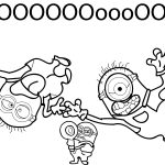 Minions Despicable Me 2 Noooo Coloring Page