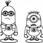 Minions Dont Understand Coloring Page