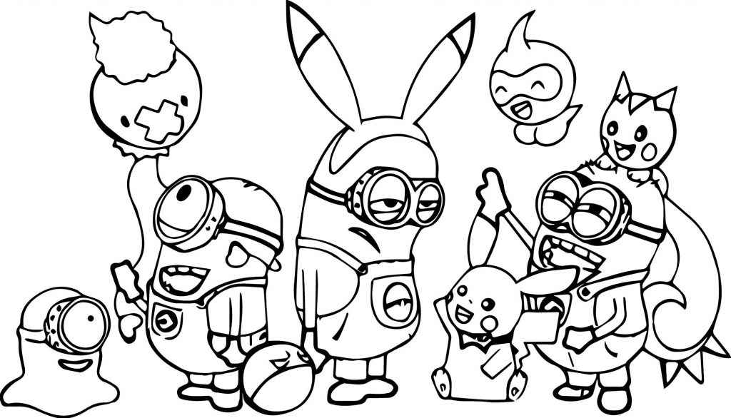 minions family coloring pages - photo#9