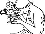 Mythology Pandoras Coloring Page
