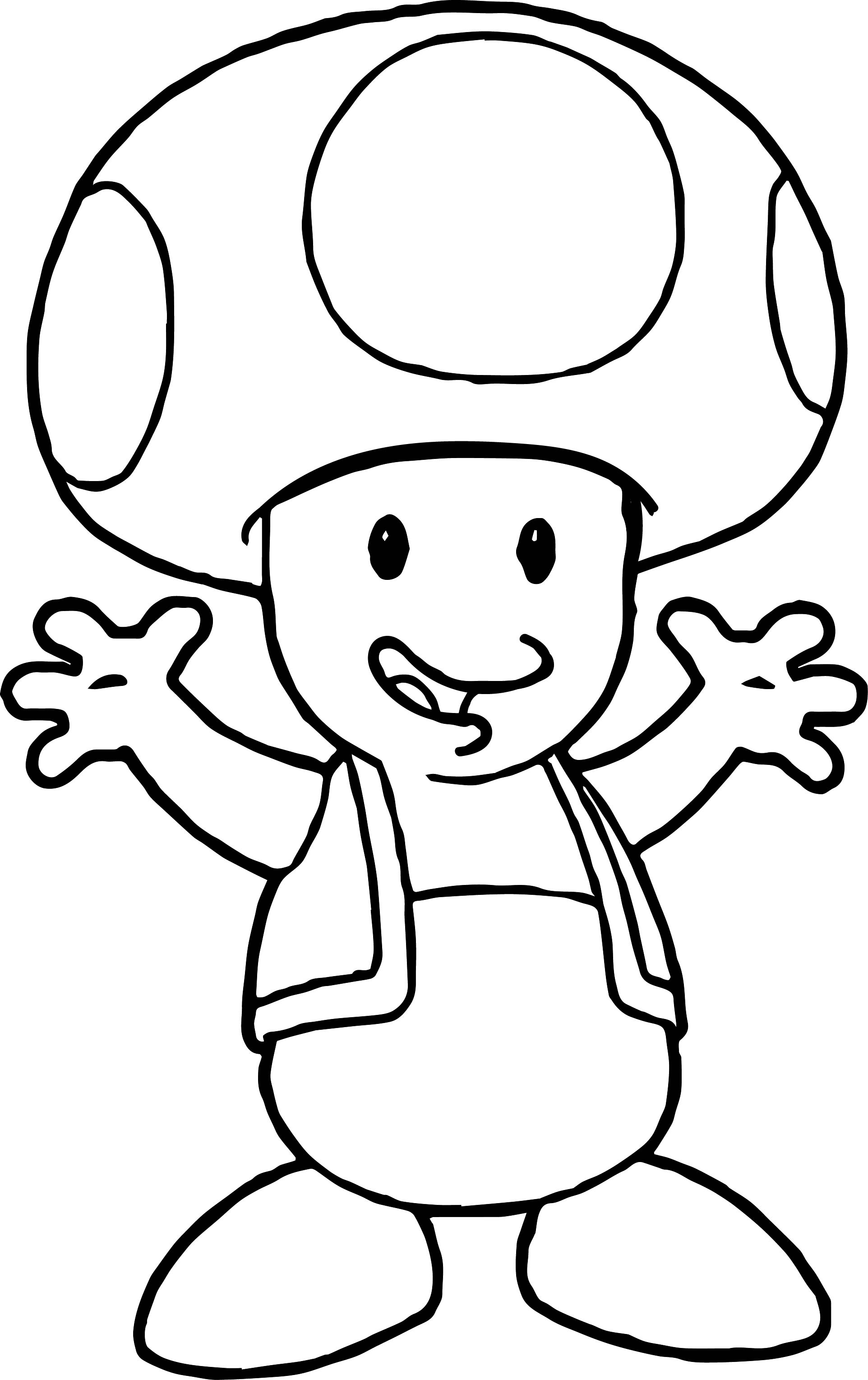 Baby Bowser Free Coloring Pages