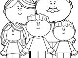 Parents And Kids Image Kids Coloring Page