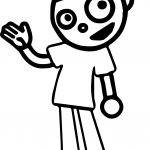 Pbs Kids Hello Coloring Page