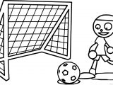 Pbs Kids Playing Soccer Coloring Page