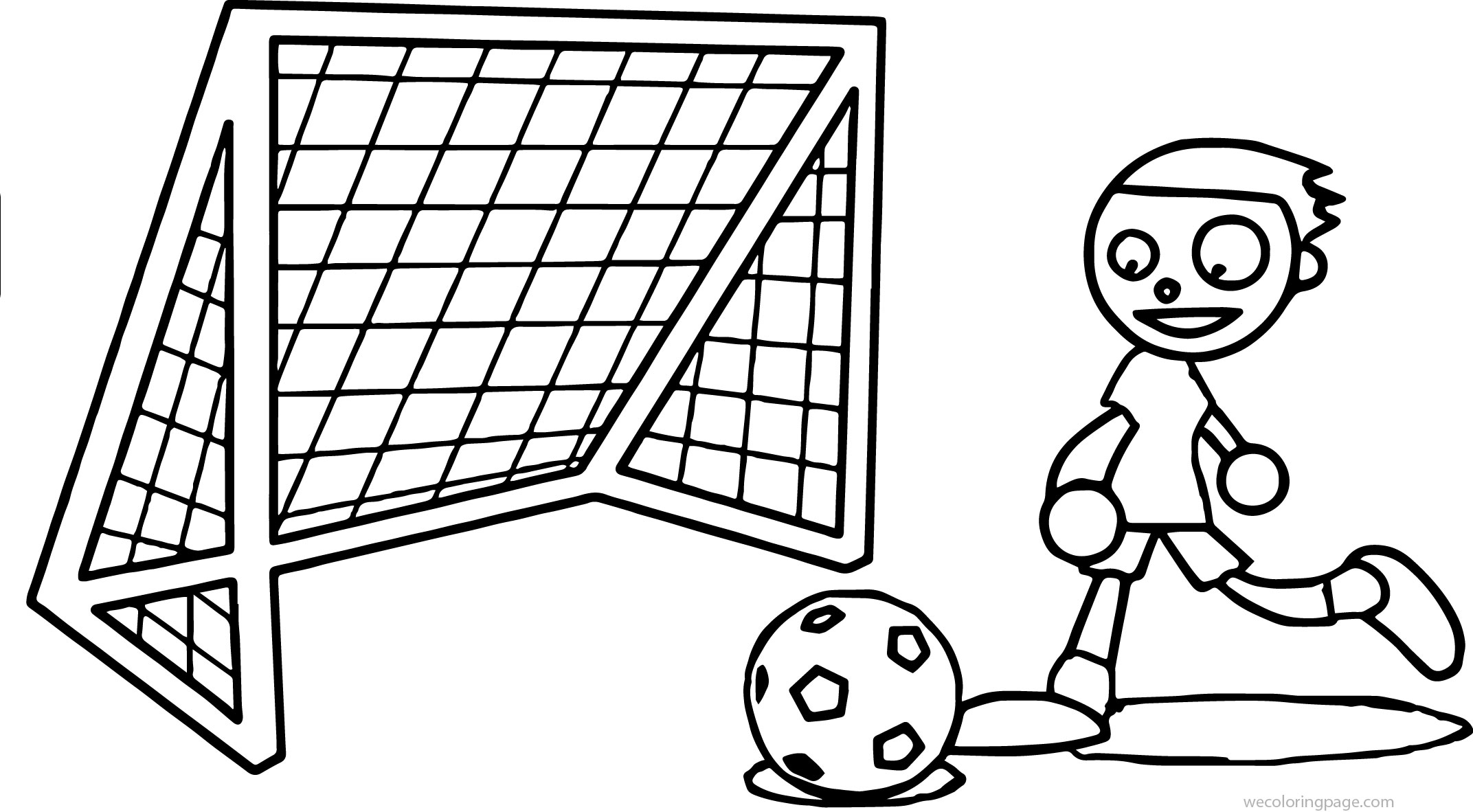 Pbs kids playing soccer coloring page for Soccer coloring pages for kids