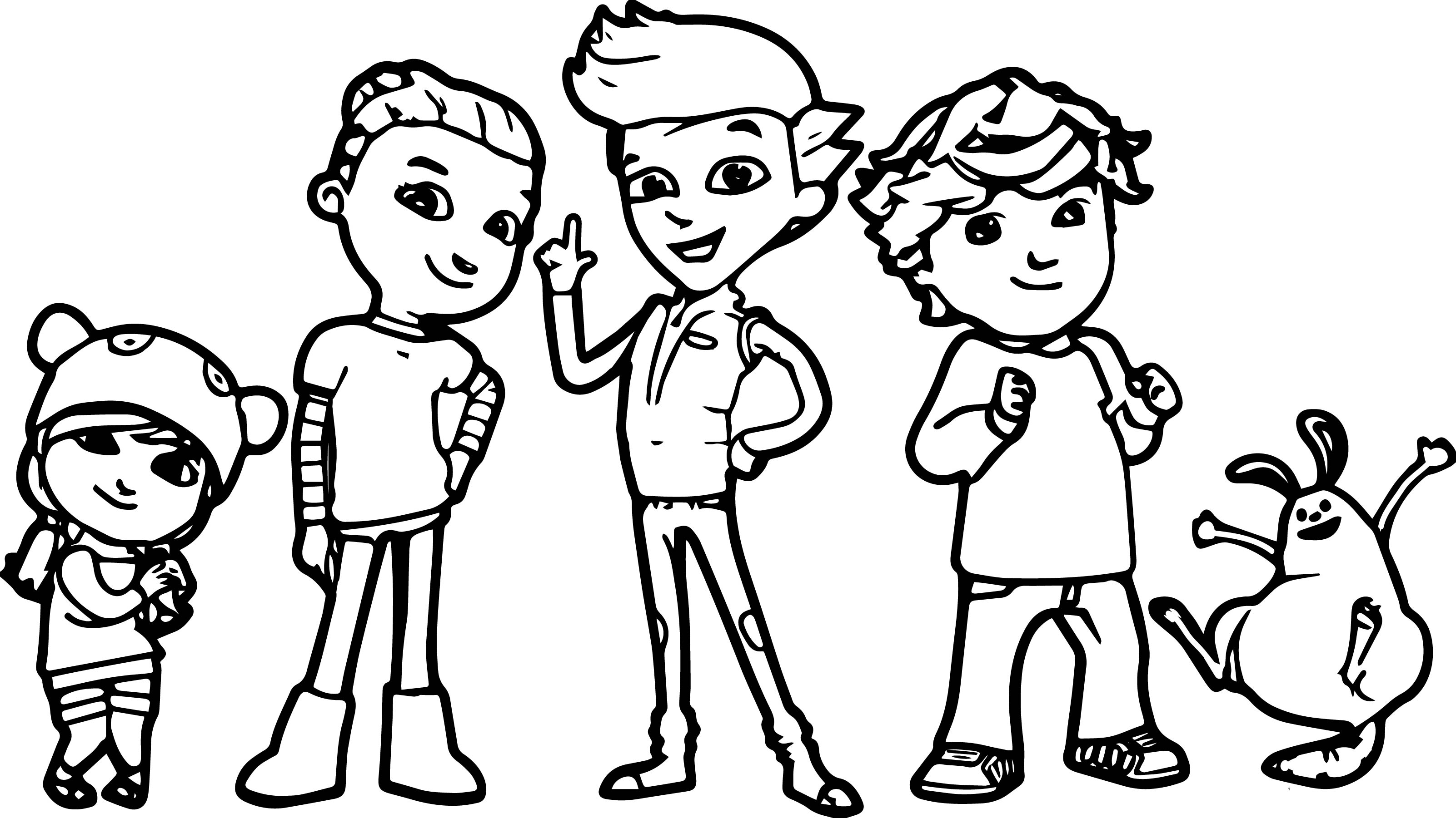Pbs Kids Ready Jet Go Coloring Page