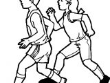 Physical Activity Coloring Page