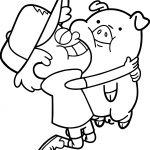 Pig My Best Friends Coloring Page