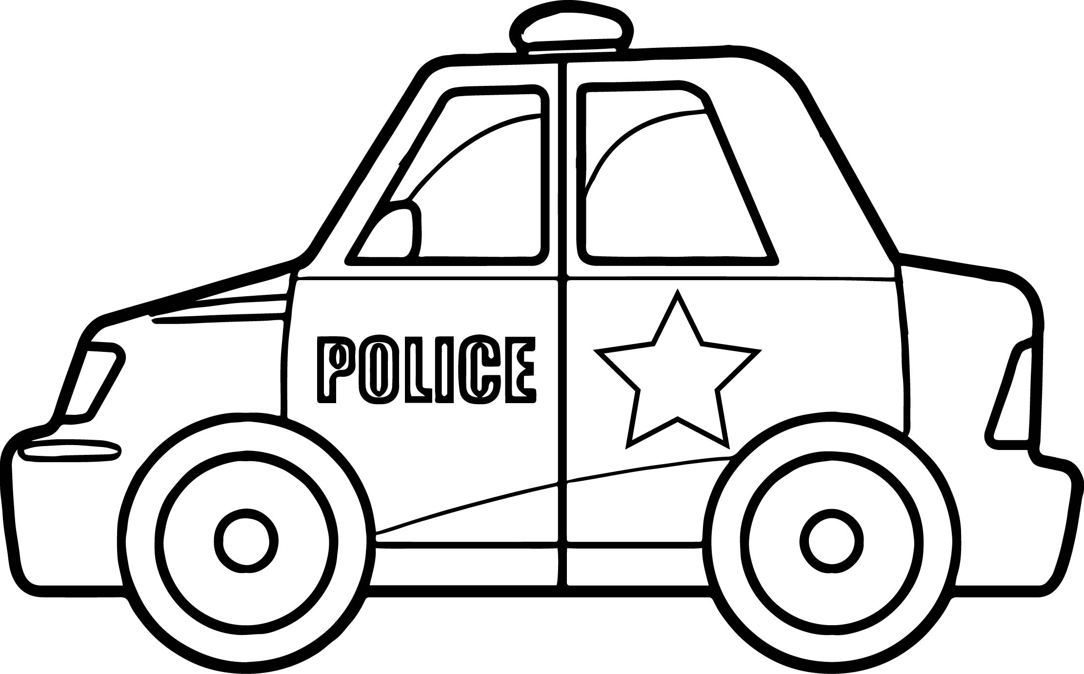 Police Car Coloring Pages Super Police Car Coloring Page  Wecoloringpage