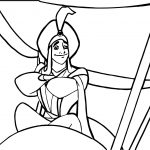 Prince Aladdin Disney Prince Coloring Page