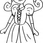 Princess Activity Coloring Page