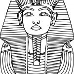 Printable Ancient Egypt Pharaoh Coloring Pages