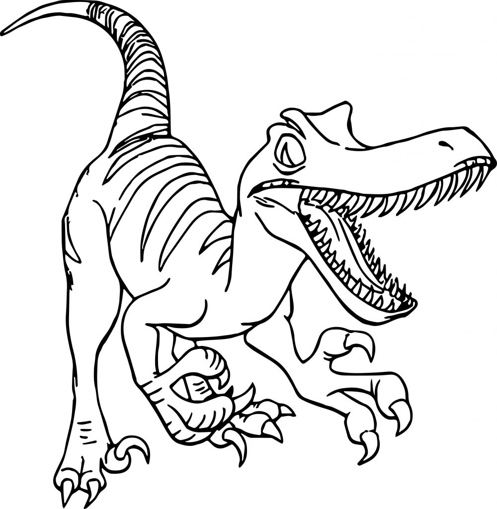 Raptor Disney Dinosaur Coloring