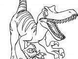 Raptor Disney Dinosaur Coloring Page