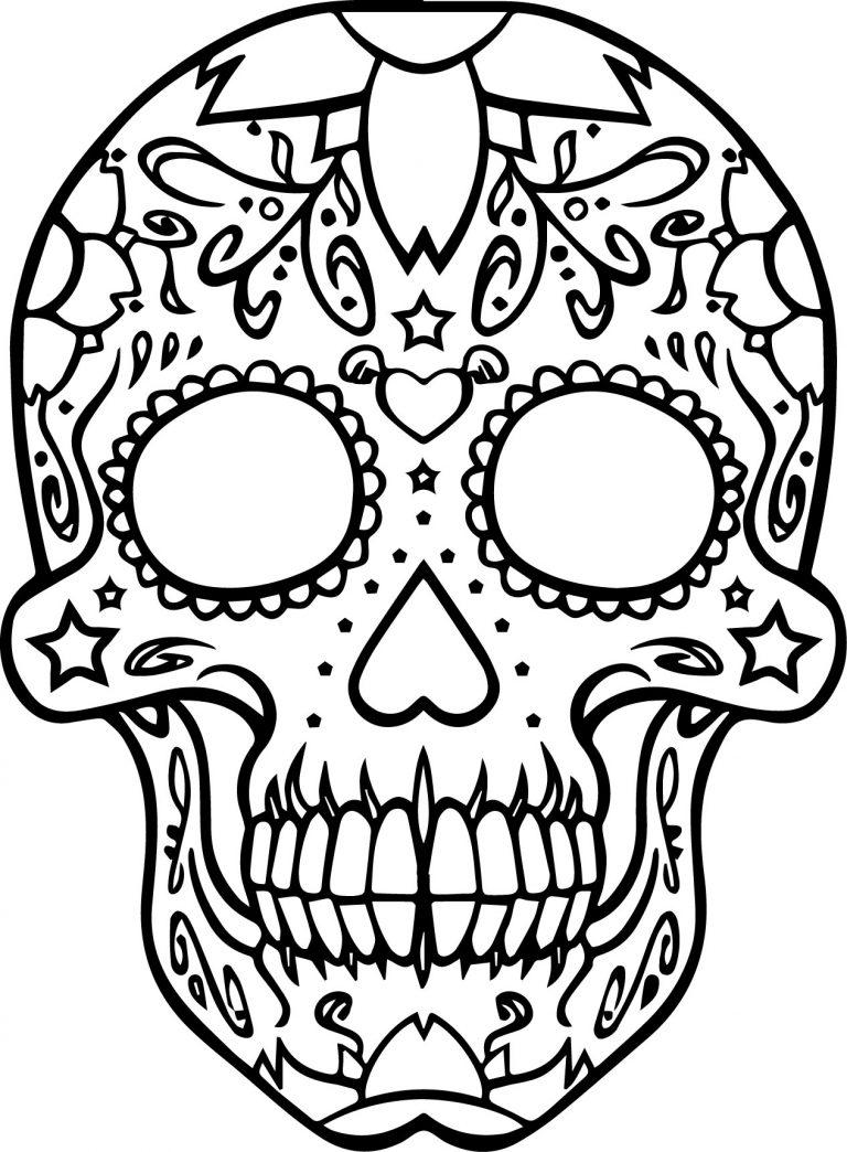 Sweary Skulls A Spanish Swear Word Coloring Book Spanish