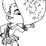 Snowanna Coloring Page