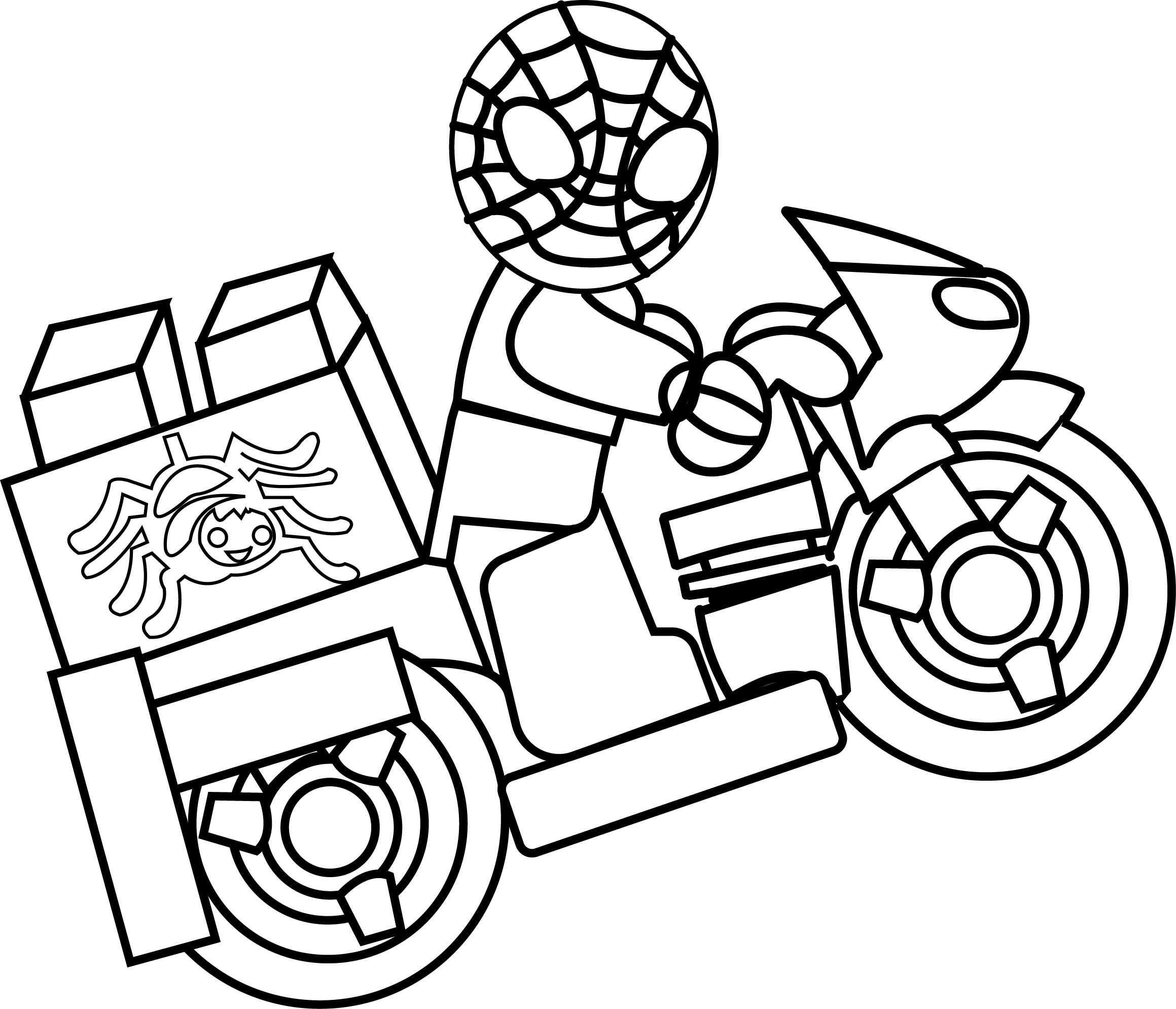 Lego Spiderman Coloring Pages Download Coloring Pages Lego