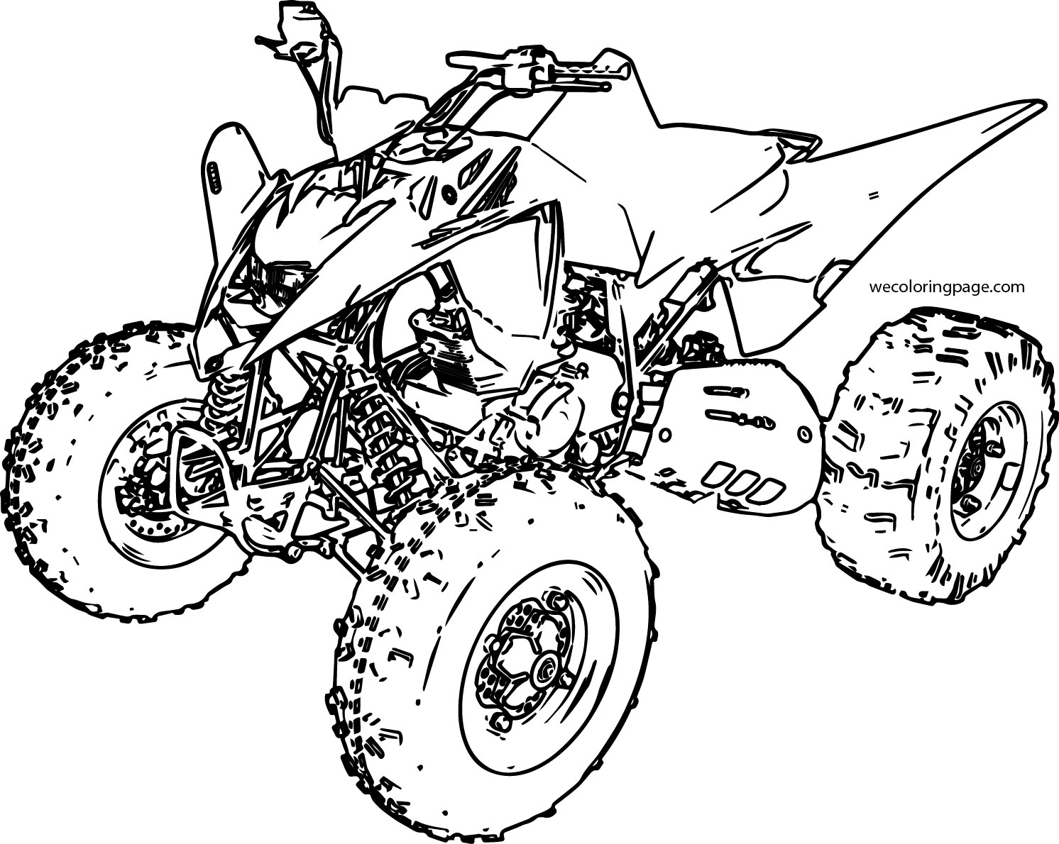 coloring pages of atv - photo #18
