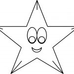 Star Happy Coloring Page