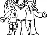 Students Kids Coloring Page