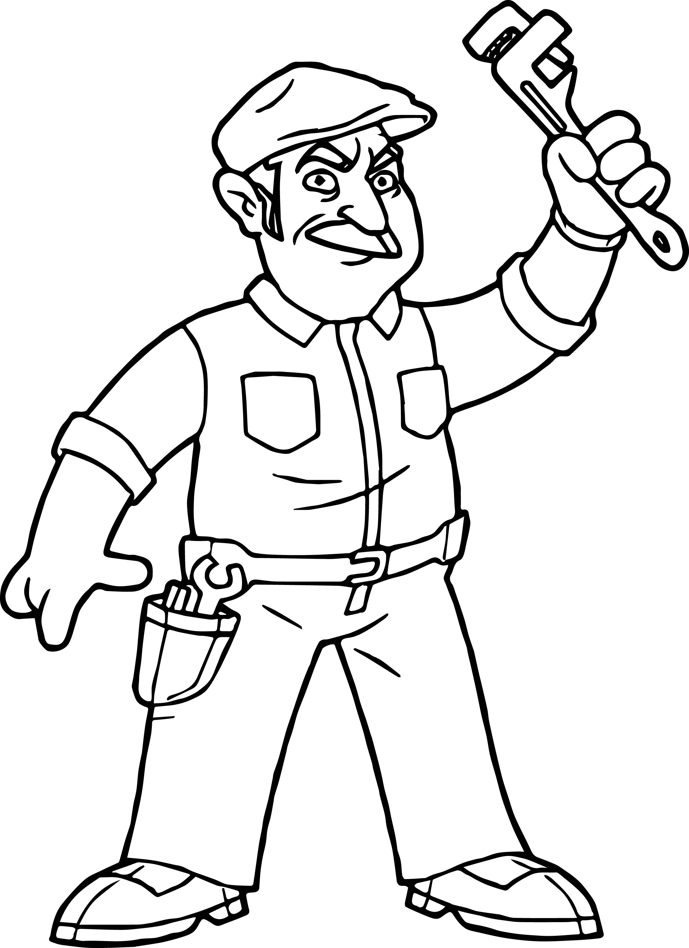 Super Mario Movie Bob Hoskins Super Mario Coloring Page