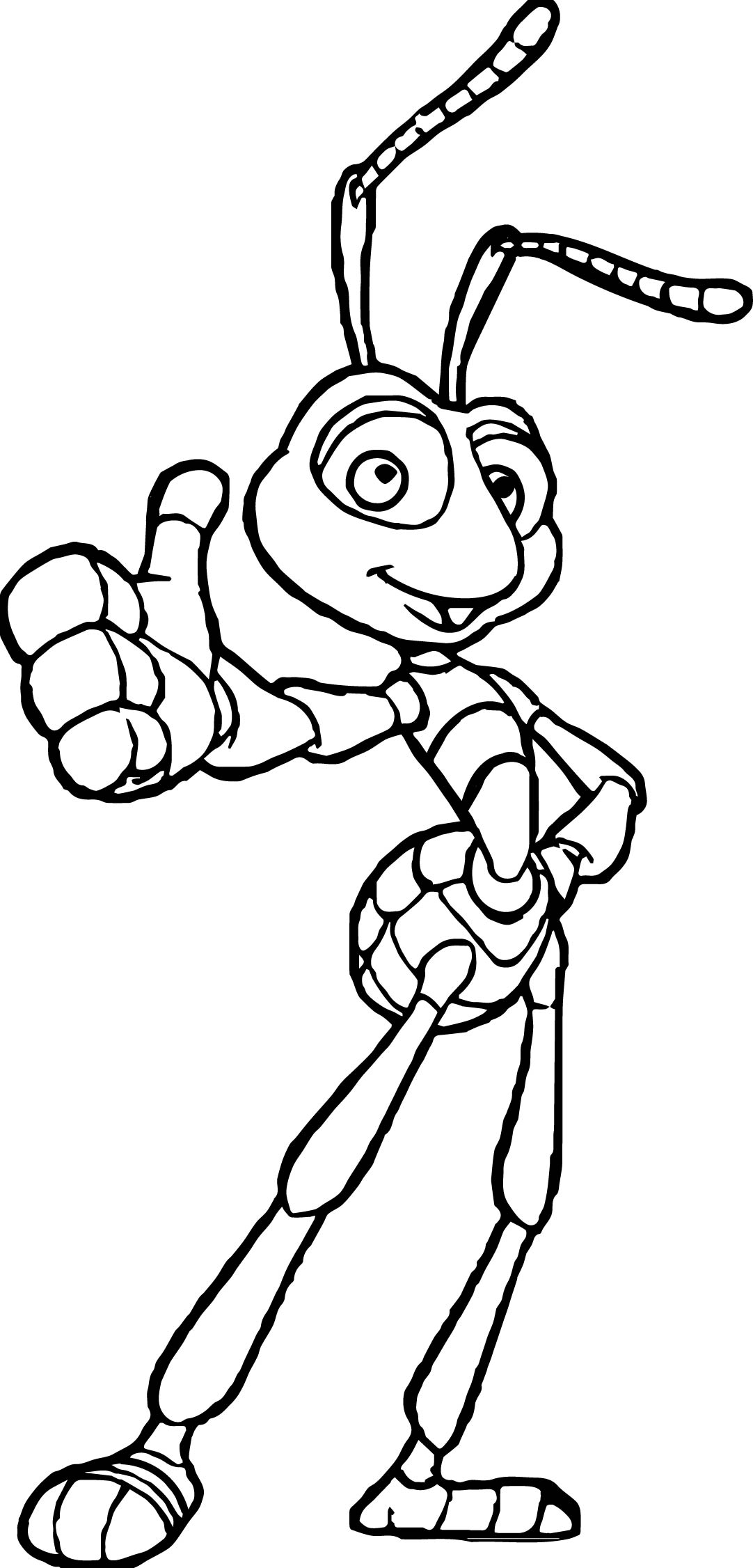 Thup Bugs Coloring Page