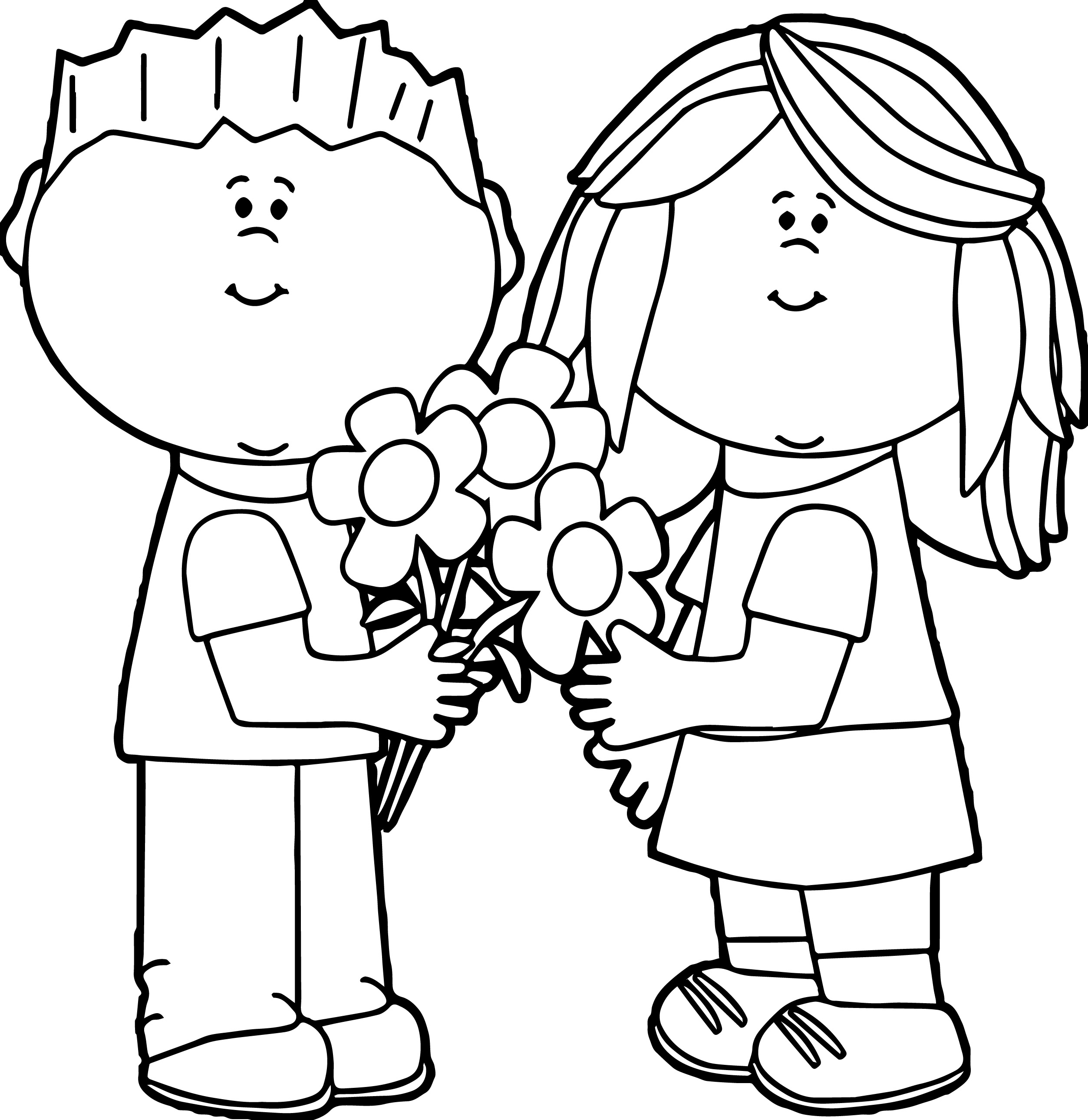 valentine for kids coloring page wecoloringpage